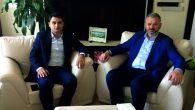 HASAN TURAN'DAN KAYMAKAMA ZİYARET