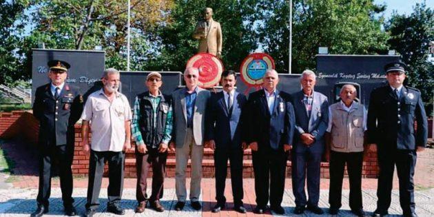 Piraziz'de 19 Eylül Gaziler Günü  Programı Düzenlendi !