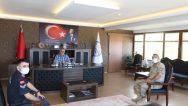Komutanlardan Görgülüoğlu'na ziyaret